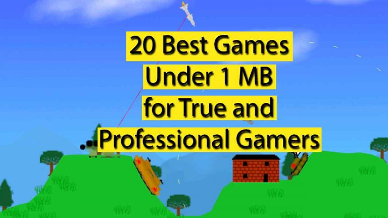 20 Best 1 MB Games for All Android Users