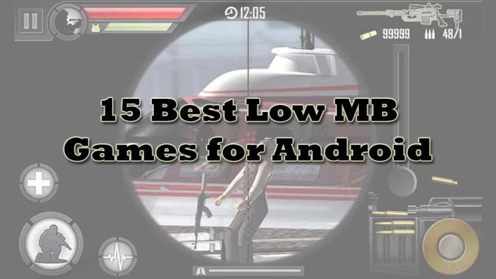 15 Best Low Mb games for android phones