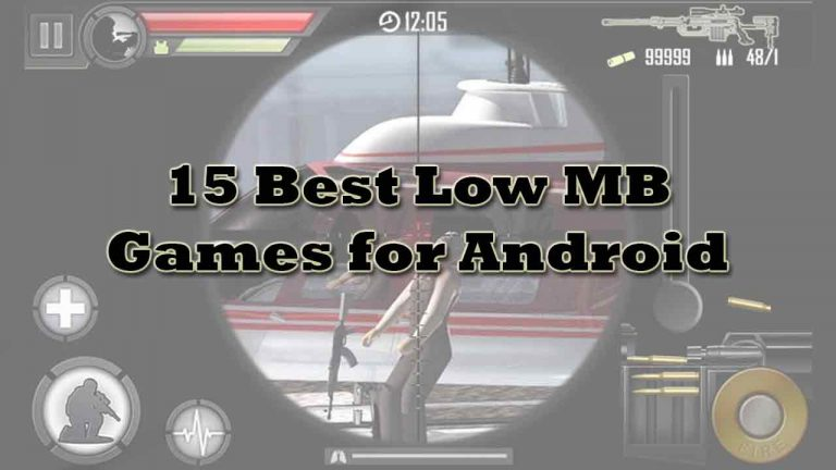 15 Best Low MB Games for Android that are Worth Playing