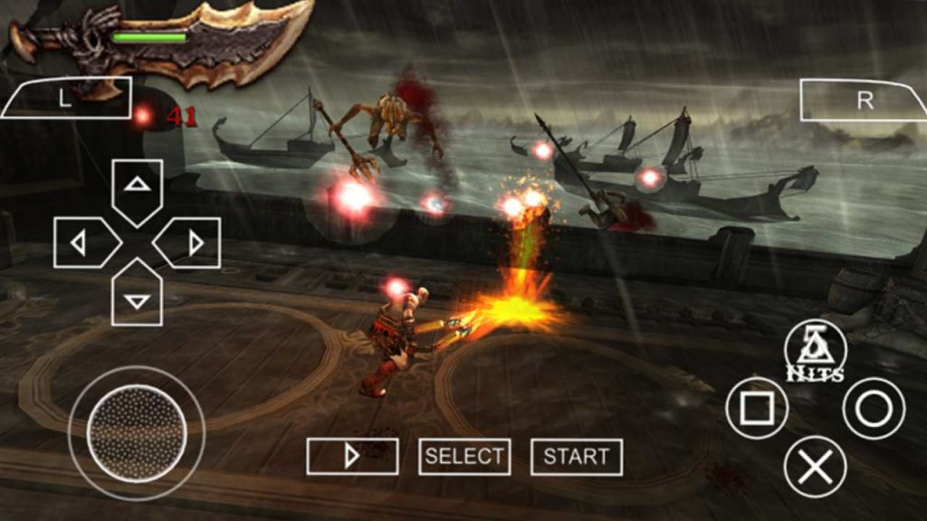 God Of War Ghost of Sparta One of the best PPSSPP Games download
