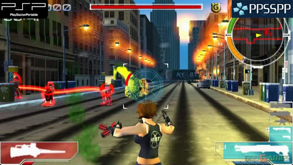 Infected is one of the best PPSSPP Games download on Android Smartphone