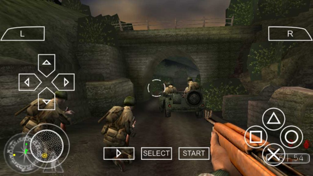 Call of Duty Road to Victory One of the best PPSSPP Games download