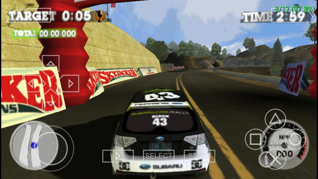 Dirt 2 One of the best PPSSPP Games download on android
