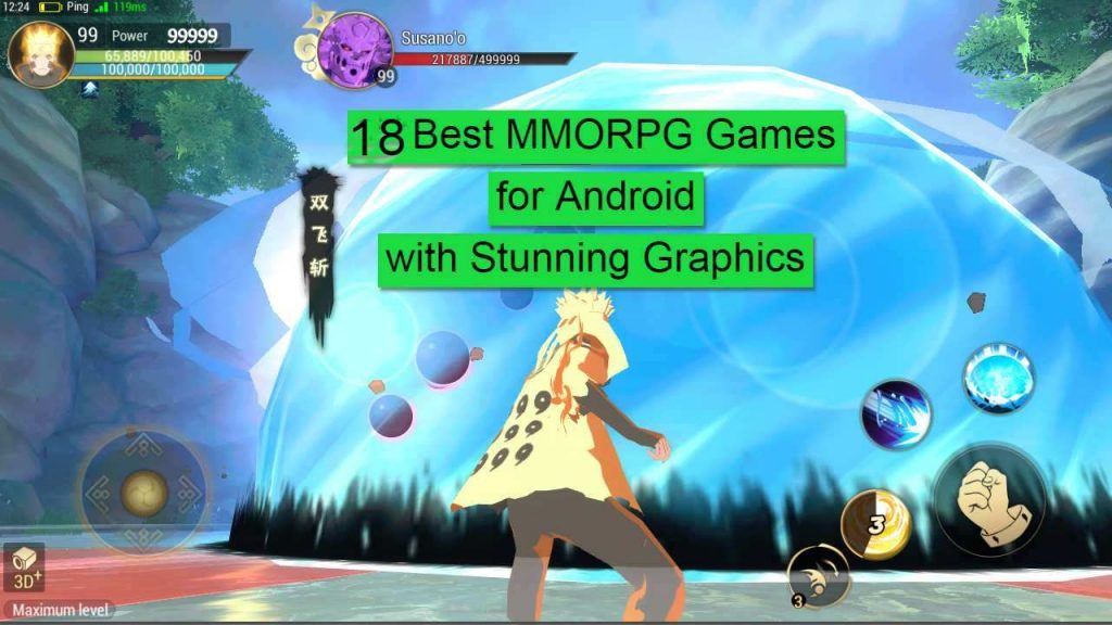 18 Best MMORPG Games for Android and iOS with stunning graphics and gameplay