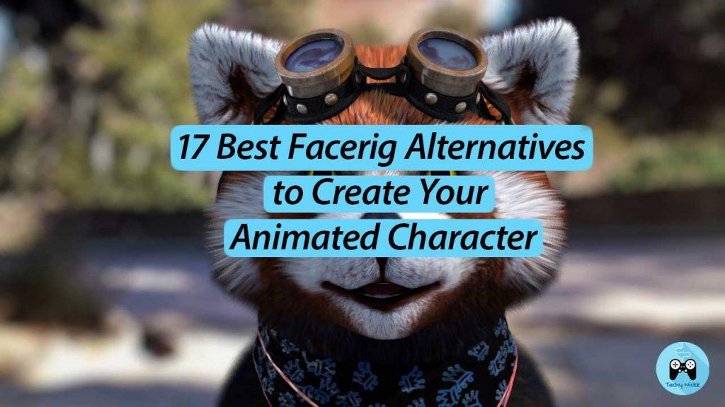 17 Best Facerig Alternatives to create your digital embodiment