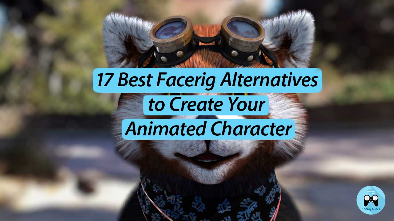17 Best Facerig Alternatives to create your digital embodiment