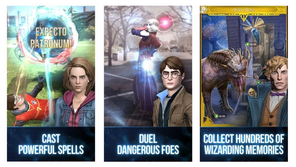 Harry Potter is an amazing Pokemon Go Alternatives for Andorid and iOS