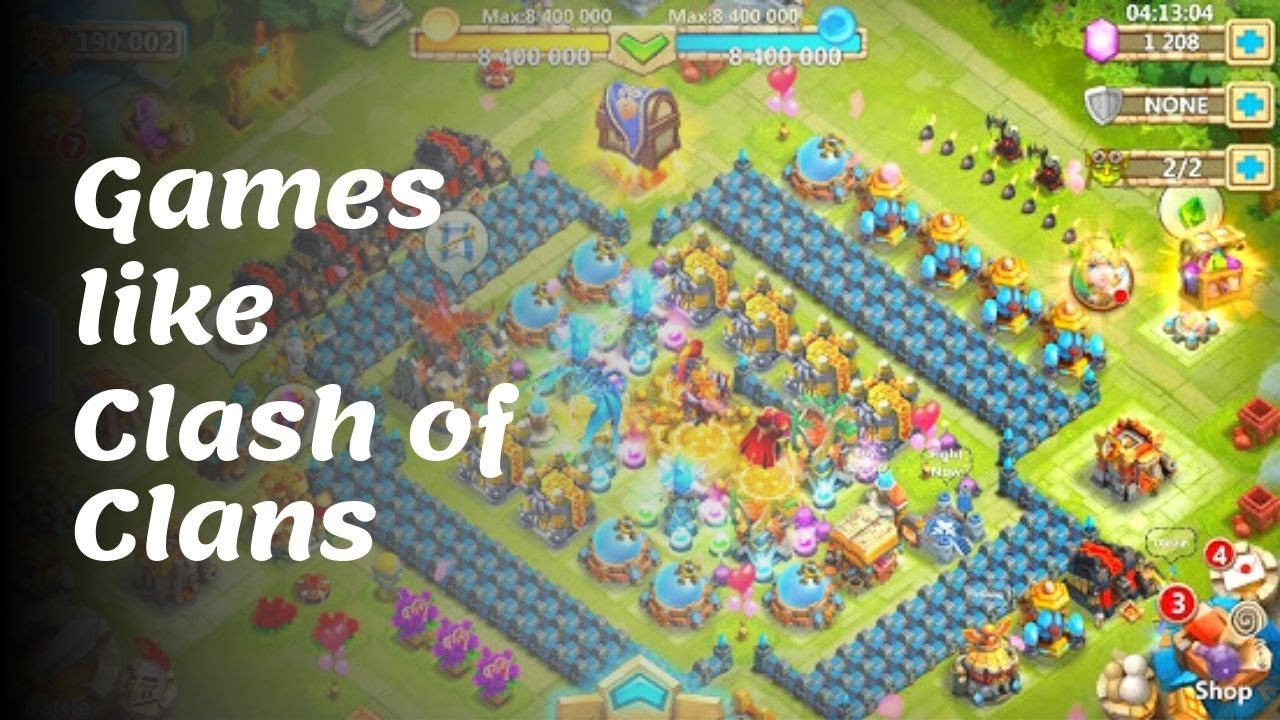 15 Best Games like Clash of Clans for android and iOS in 2020 and 2021