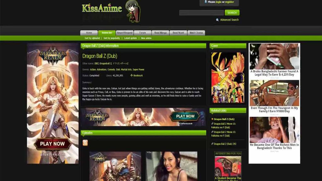 kissanime is an anime website that allows you to watch and download anime