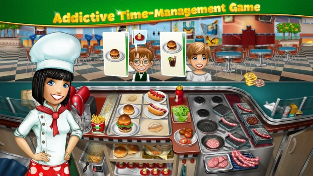 Cooking Fever is a beautiful game where you'll be learning how to manage time and cooking food