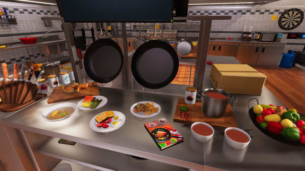Cooking Simulator is one of the best Cooking Games for PC and one of the best restaurant games for pc