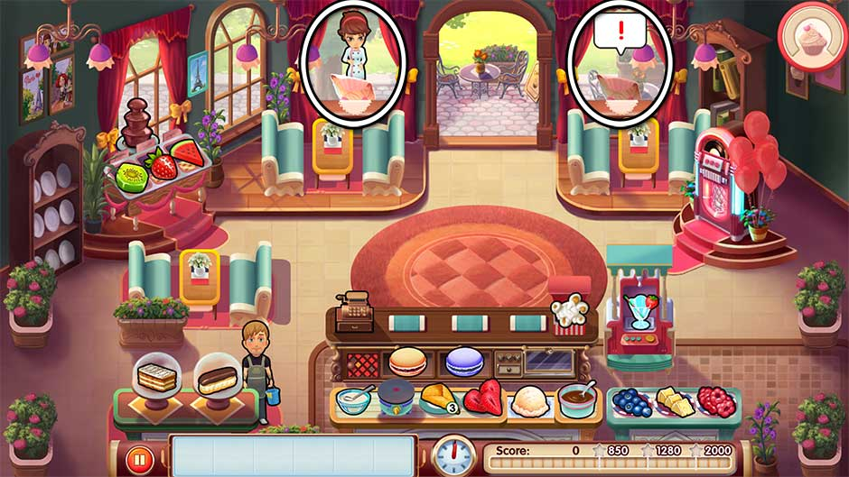 Mary Le Chef is one of the best cooking games for PC and one of the best restaurant games for pc