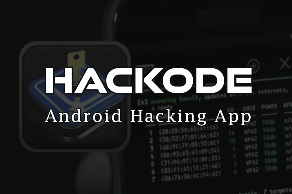 Hackode is one of the best hacking apps for android