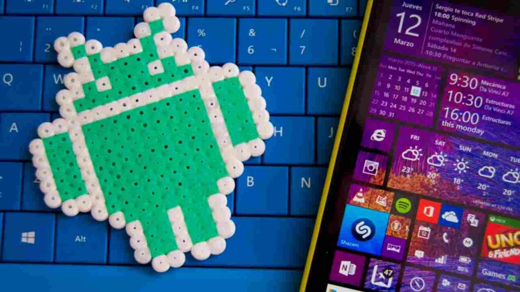 Microsoft's old project to run native android apps on windows smartphones, tablets, and PC
