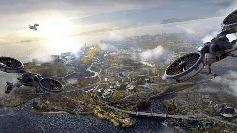 Pubg New State Futuristic map glimpse